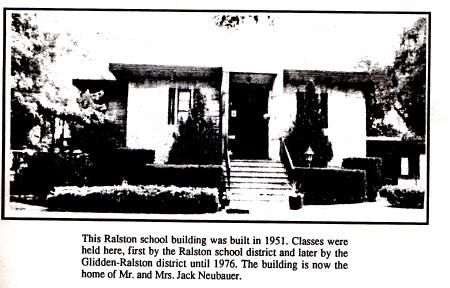 The Ralston school building shut down in 1976.