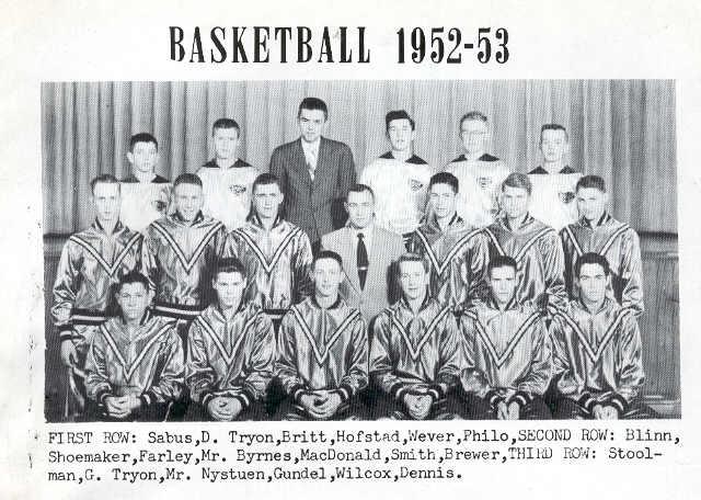 Basketball Team 1952-1953
